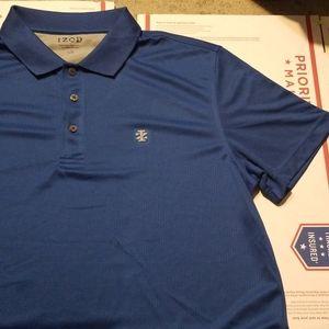 NWOT Izod Blue Golf Polo